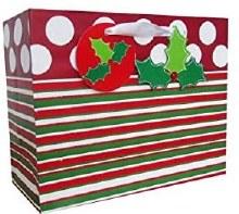 Gift Bag Contemporary Stripes