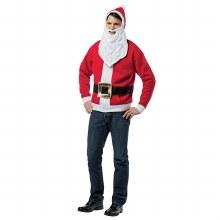 Santa Hoodie Adult M