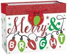 Gift Bag Med Merry & Bright