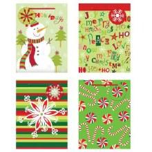 Christmas Gift Bags 4pk