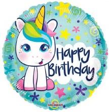 Happy Birthday Unicorn Cutie ~ 18in