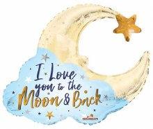 """I Love You To The Moon & Back ~ 36"""""""