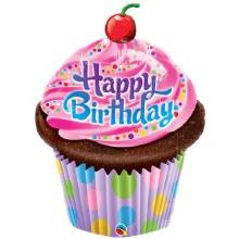 """35"""" HB Cupcake Balloon"""