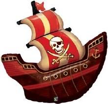 "Jumbo Pirate Ship ~ 40"""
