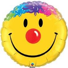 "Jumbo Clown Smiley ~ 36"""