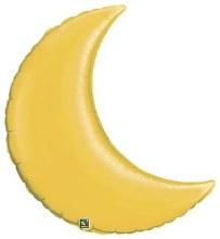 "Jumbo Moon Gold ~ 35"""