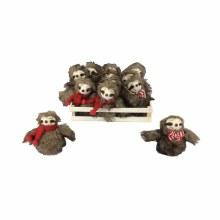 Sloth Plushie Ornament
