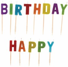 Candles Pick Happy Birthday