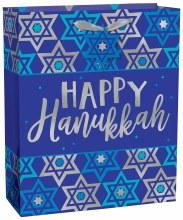Gift Bag Happy Hanukkah Med