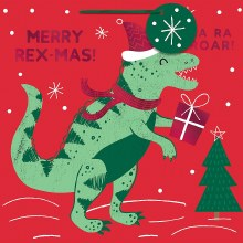 Git Bag Holiday T-Rex