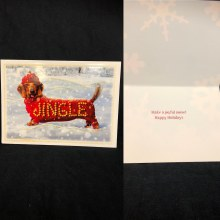 Jingle Dog Holiday Card