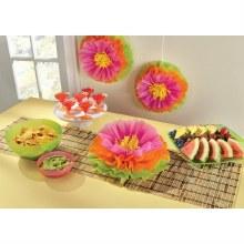 Hibiscus Flower Fluffy Decor