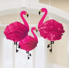 Flamingo Fluffy Decor
