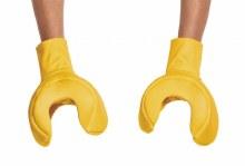 Lego Hands Iconic Yellow