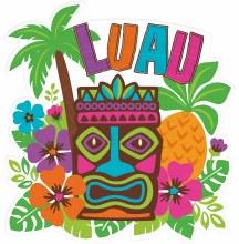 Luau Cutout