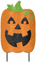 Jack-O-Lantern Yard Decor