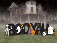 Halloween Boo Yah Yard Signs