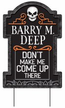 Tombstone Barry M Deep 22in