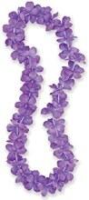 Lei Purple 40in