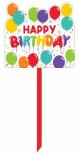 Birthday Celebration Yard Sign