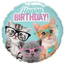 "MYLR HB Kittens w/Glasses 18"""