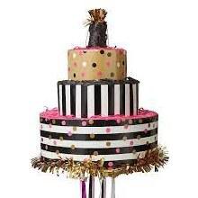 Cake Pull Pinata