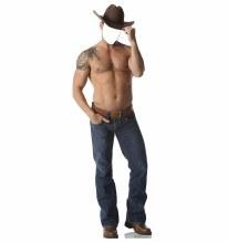 Cowboy Shirtless Stand Up