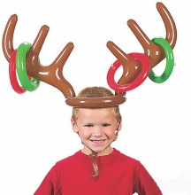 Reindeer Ring Toss Inflatable