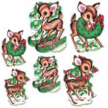 Christmas Reindeer Cutouts