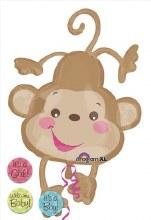 """Jumbo Welcome Baby Monkey ~ 40"""""""