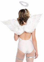 2Pc Angel Accessory Kit White