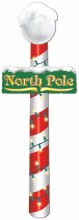 North Pole Jointed Cutout