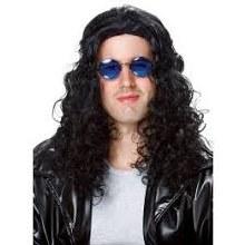 Wig 80's DJ Black