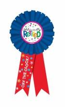 Officially Retired Award Ribbn