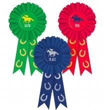 Award Ribbons Horse Race