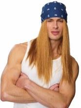 Wig Rocker w/ Bandana