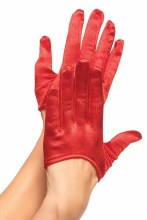 Gloves Mini Cropped Red