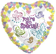 """You're So Special Pastel Heart ~ 18"""""""