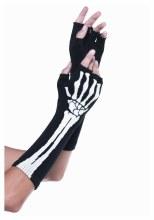Gloves Skeleton Fingerless