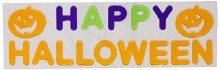 Happy Halloween Gel Cling