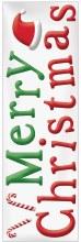Gel Clings Merry Christmas