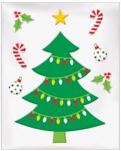 Christmas Tree Gel Clings