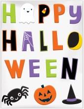 Halloween Friends Gel Clings