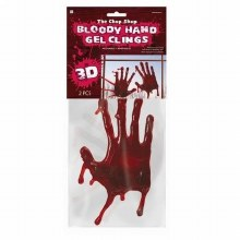 Bloody Hand Cling