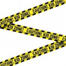 Kid Zone Construction Tape