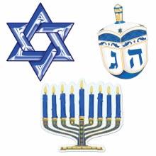 Hanukkah Cutouts