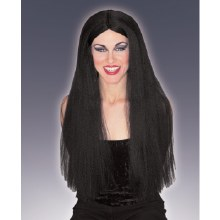 Wig ExtraLong Black 30inch
