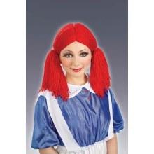 Wig Rag Doll Girl