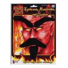 Devil Man Facial Hair 3pc