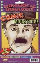 Moustache Chaplin Comic